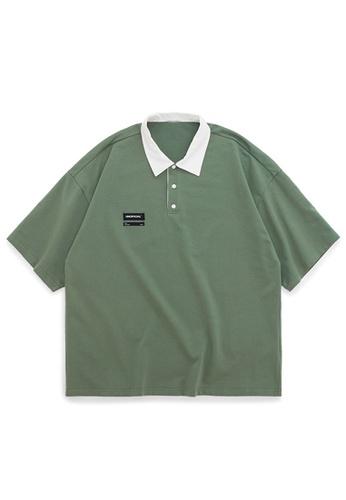 Twenty Eight Shoes Loose Casual POLO Shirt 1043S20 D3471AAA232E40GS_1