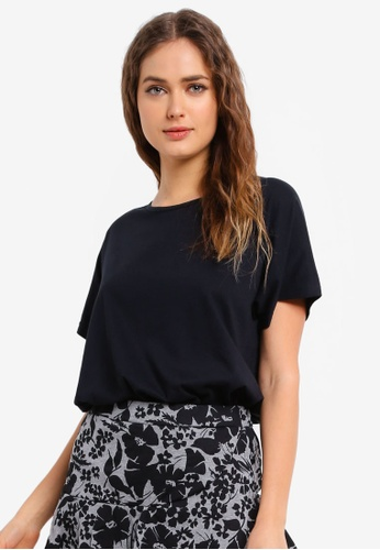 UniqTee black Cooling Short Sleeve Top 917A4AA822F65AGS_1