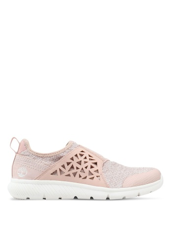Timberland pink Boltero Slip-On Sneakers 10F89SH407BED3GS_1