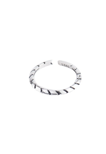 A-Excellence silver Premium S925 Sliver Arrow Ring F34A6ACC2D3CB4GS_1
