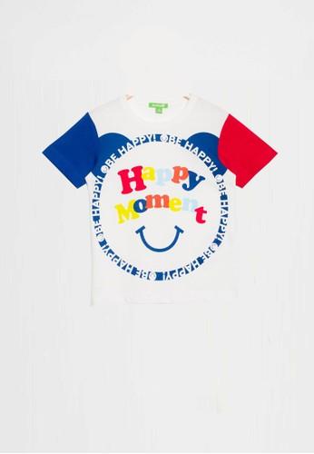 Bossini white Bossini Kids Boy T-Shirt Wht Pearl (83080608001) AE46EKAAD38976GS_1