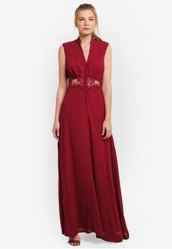 JARLO LONDON red Vicky Dress JA676AA0S4ZSMY_1