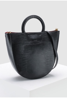 9990e11a9d11 35% OFF Banana Republic Circle Handle Tote Bag RM 429.00 NOW RM 278.90  Sizes One Size