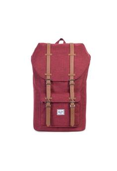 38725e46db79 Herschel red Herschel Little America Backpack (Wine X) - 25L  47DD2AC4CA20CBGS 1