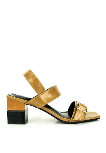 Mario D' boro Runway brown Marfe Sandals 61878SH97F50E5GS_1