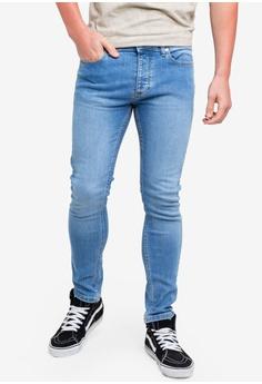 024656c8834f Topman blue Powder Blue Stretch Skinny 84D81AA1EC484CGS 1