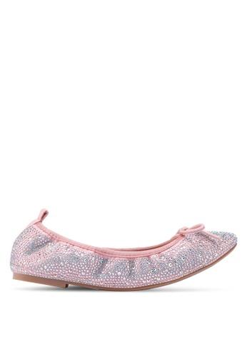 5f1c7ecad2f Buy prettyFIT Crystal Embellished Ballet Flats Online on ZALORA Singapore