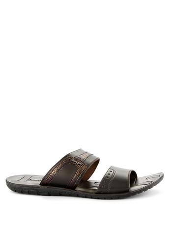 Homyped brown Arai 02 Men Sandals 437C1SHD4AEAA0GS_1