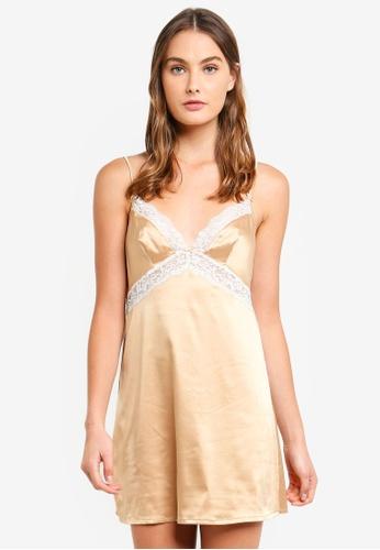 Dorina gold Savannah Dress 4572FAAA2AC7D8GS_1
