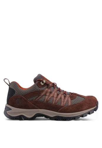 Timberland brown Mount Maddsen Lite Low Outdoor Shoes 41E25SHA304ECEGS_1