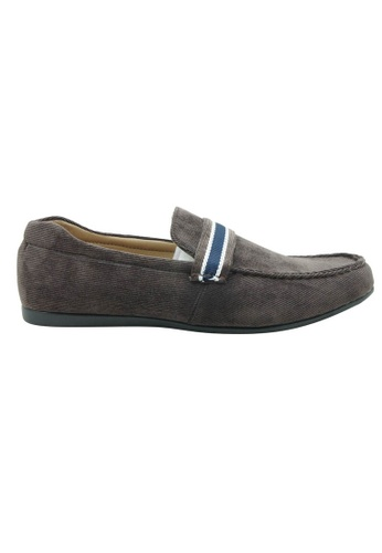midzone brown EXO SCORPION Fashion Slip On CA291SHE580478GS_1