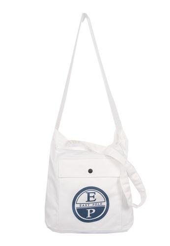 East Pole white Unisex Two-way Crossbody tote bag CD8BEAC603B913GS_1