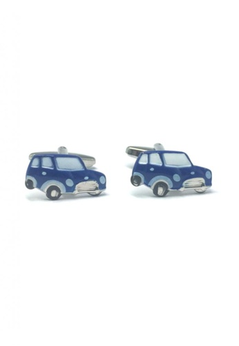 Splice Cufflinks blue Blue Cute Car Cufflinks  SP744AC69EEOSG_1
