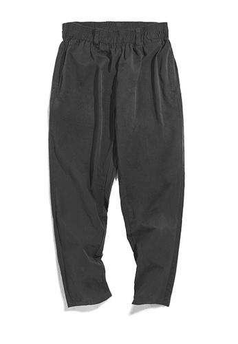 Twenty Eight Shoes black VANSA  Japanese Solid Color Causal Pants  VCM-P2001004 3597AAA4514B58GS_1