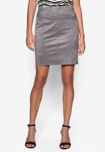 麂皮鉛筆短裙, esprit 兼職服飾, 裙子