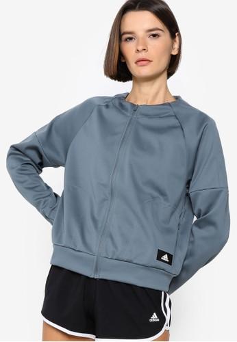 ADIDAS blue womens most versatile player jacket F1B41AA50B94B6GS_1