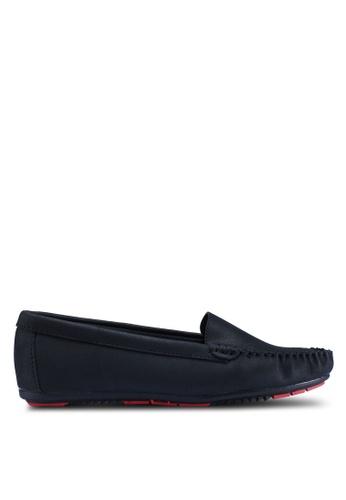 Noveni 黑色 休閒樂福鞋 E70E8SH5B9A18BGS_1