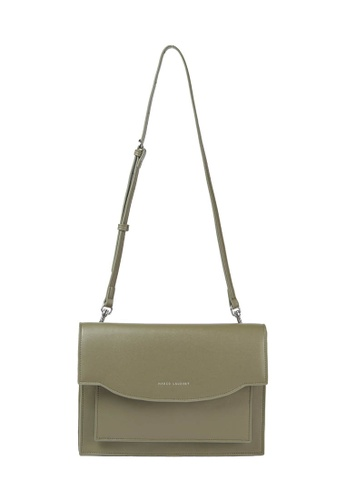 MARCO LAURENT green Shallow Smile Clutch & Shoulder Bag 17244ACA9F49B9GS_1