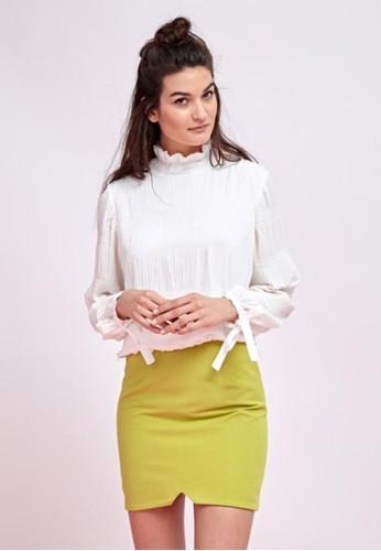 彈性包臀短esprit台灣outlet裙, 服飾, 迷你裙