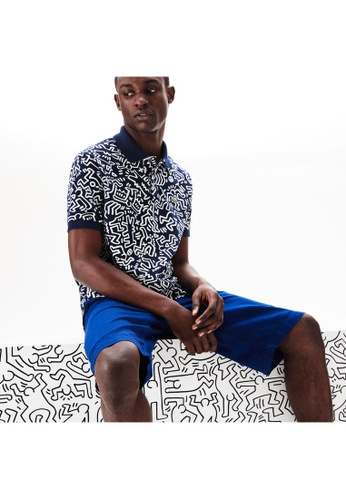 11d0c3db Men's Lacoste Keith Haring Print Classic Fit Mini Piqué Polo Shirt -  PH4344-10