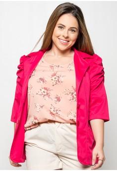 Maemi Plus Size Jacket