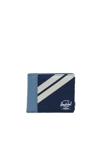 Herschel blue and multi Herschel Unisex Roy Coin Wallet Peacoat/Blue Mirage/Pelican 9E4E3AC9E48C8CGS_1