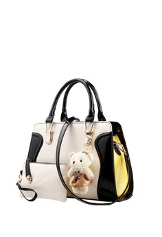 New Style Shoulder Bag with Bear and Pouch