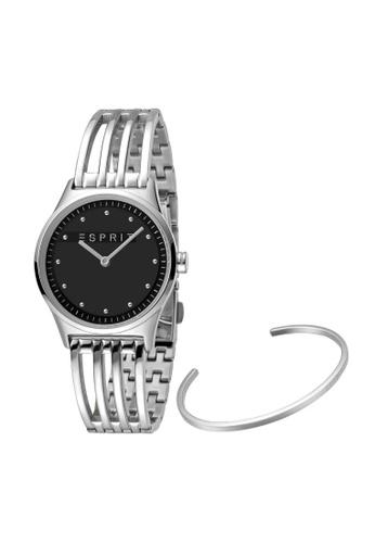 ESPRIT silver Esprit Women Unity Black Box Set ES1L031M0025 6C74FAC1C97078GS_1