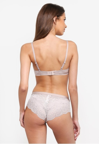 Dorina beige Claire 2-Tone Hipster Panties 4F095US015081CGS_1