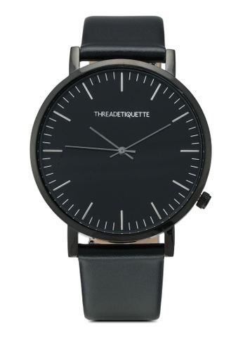 Thread Etiquette black Classic-Black/Black Timepiece 08084AC514C0C0GS_1