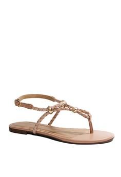 Anacapri Peitha T strap Flat Sandals
