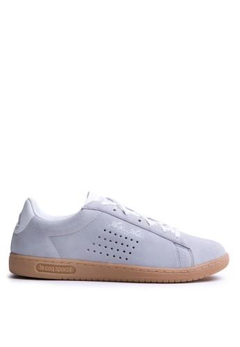 Le Coq Sportif grey Arthur Ashe Suede Gum Shoes A8BE3SHA45709DGS_1
