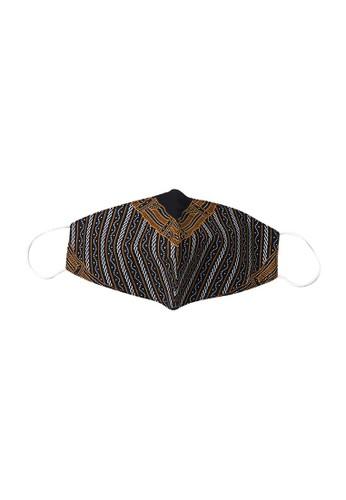 Maginot black Maginot Masker Batik Naraya 2 Layer 1 Pcs E5F21ES979B516GS_1