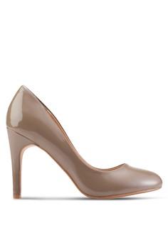 【ZALORA】 漆皮尖頭高跟鞋