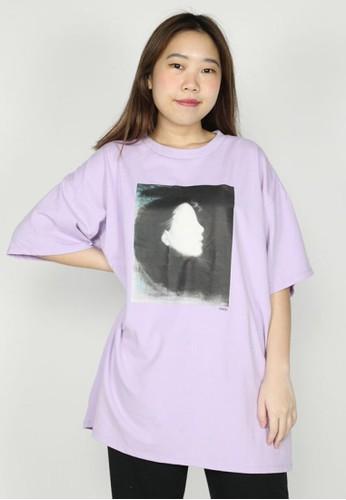 NOOB purple HELP Tee EEFC3AA232AB74GS_1