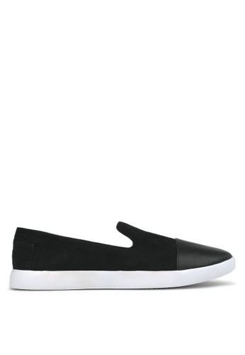 Betts black Sumo Casual Slip On Shoes 4037ASH48C3351GS_1