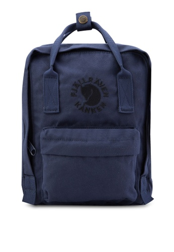 Fjallraven Kanken blue Midnight Blue Re-Kanken Mini Backpack FJ382AC48RJJMY_1