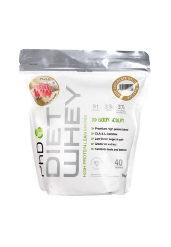 Holland & Barrett PhD Diet Whey Powder White Chocolate 1000g 3F2DBES28B2014GS_1