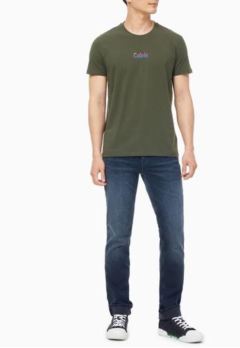 Calvin Klein multi CK Men's Round Neck Short Sleeve Tshirt C76F5AA7785D01GS_1