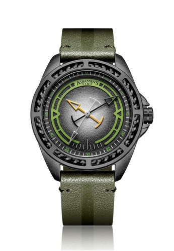 Assassin's Time green Assassin's Time TRIPLE Green Leather 08EF6AC6478DB4GS_1
