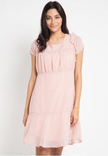 WHITEMODE pink Janae Dresses 15F48AAC33F761GS_1