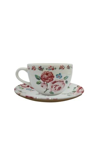 Claytan Fragrance Rose - Cup & Saucer 38976HL3B6EB14GS_1