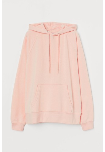 H&M pink Hooded top 45F86AA513C48CGS_1