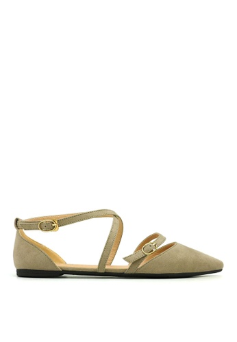Carlo Rino grey Carlo Rino 33320-A013-18 Pointed Toe Flats (Grey) 95BF1SH1A744A5GS_1