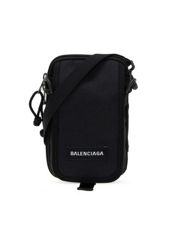 BALENCIAGA black Balenciaga Explorer Crossbody Bag in Black 161EEACFE75C7DGS_1
