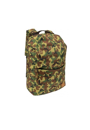 Focused Space green Focused Space - The Camo Seamless Backpack FO133AC2VUGBHK_1