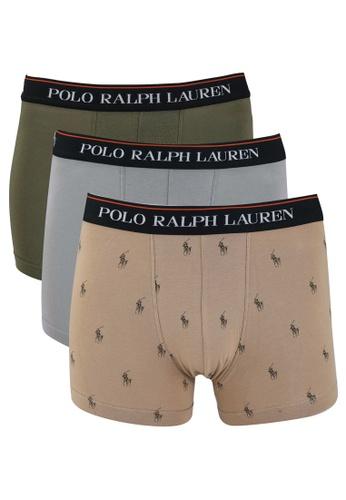 Polo Ralph Lauren multi 3-Pack Classic Trunks B6DECUS478EA5DGS_1
