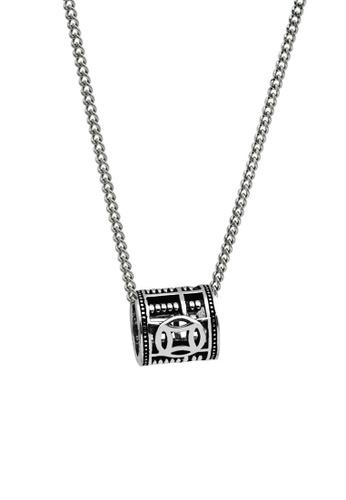 LYCKA silver LDR1218 S925 Silver Vintage Coins Necklace C9DDEAC875C073GS_1