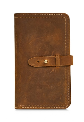Twenty Eight Shoes Travelling Handmade Vintage Leather Wallet 2052 4F200ACD8B32A1GS_1