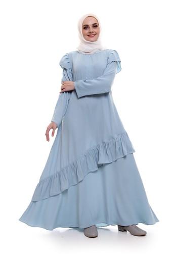 Allev blue Zalfa Dress - Biru Mint A45FAAA5D028E7GS_1